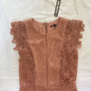 Gianni Bini Dresses - Peach Mini Dress